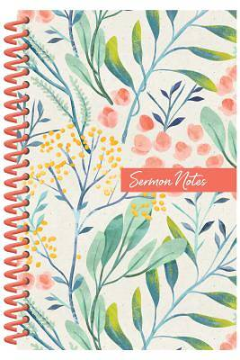 Picture of Sermon Notes Journal [floral]