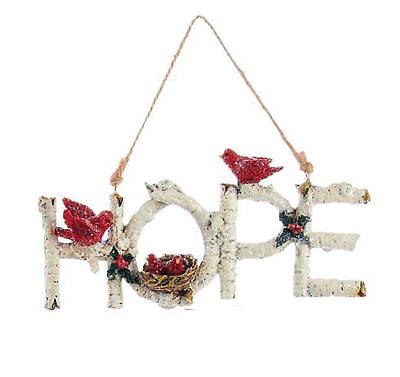 Picture of Birchwood Word Ornament - Hope