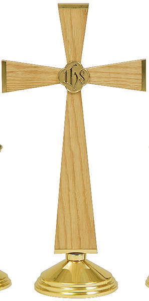 "Picture of Koleys K751CORP 24"" Altar Cross 7"" Base with Corpus"