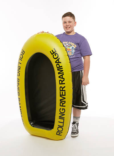 Picture of Vacation Bible School (VBS) 2018 Rolling River Rampage Inflatable Raft