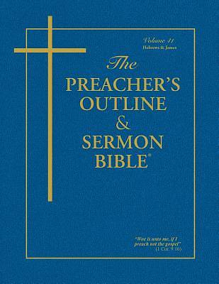 Picture of Preacher's Outline & Sermon Bible-KJV-Hebrews-James
