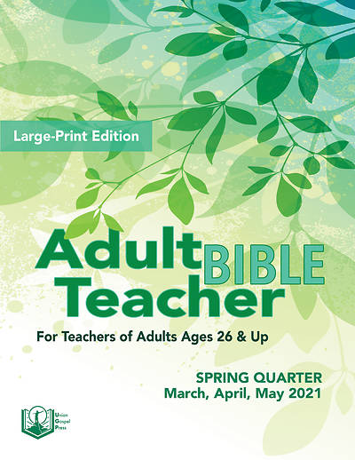 Picture of Union Gospel Adult Bible Teacher Large Print Spring 2021