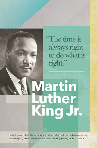 Picture of Martin Luther King Jr General Regular Size Bulletin