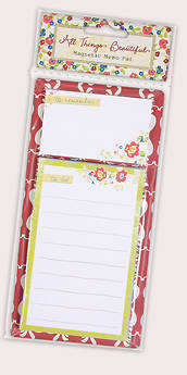 All Things Beautiful Magnetic Memo Pad