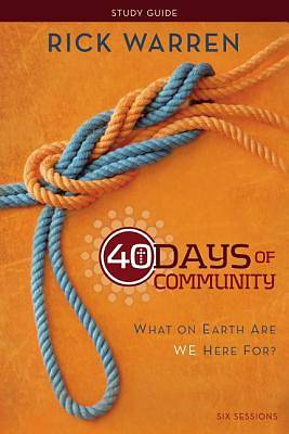 Picture of 40 Days of Community Study Guide: