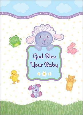 God Bless Your Baby Greeting Book
