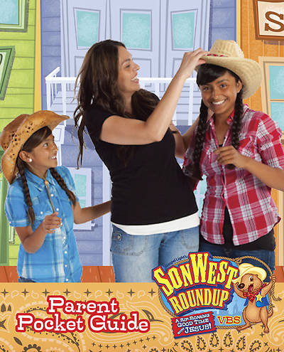 Gospel Light Vacation Bible School 2013 SonWest RoundUp Parent Pocket Guide (Pkg 10)