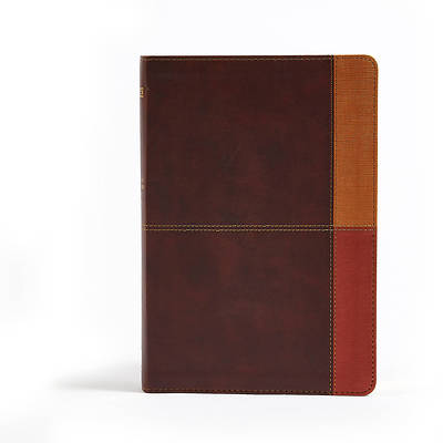 Picture of NIV Rainbow Study Bible, Cocoa/Terra Cotta/Ochre Leathertouch