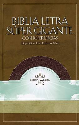 Super Giant Print Reference Bible-Rvr 1960