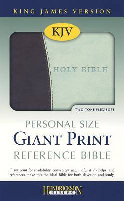 Bible-KJV Personal Size Giant Print Reference