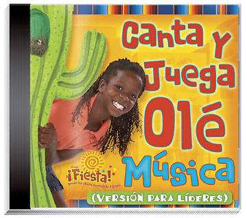 Group Vacation Bible School 2006 Fiesta! Spanish Leader Sing and Play Ole Music CD VBS