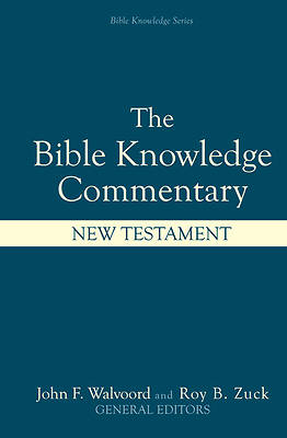 Picture of The Bible Knowledge Commentary