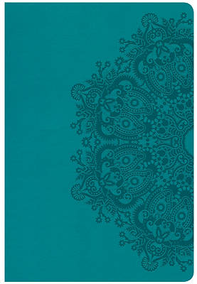 Picture of CSB Giant Print Reference Bible, Teal Leathertouch