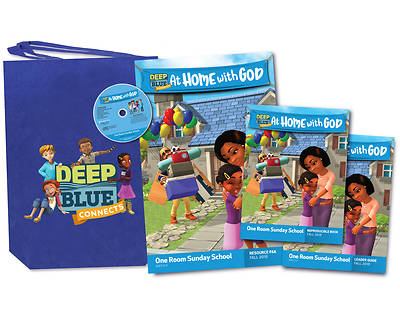 Deep Blue One Room Sunday School Kit Fall 2018
