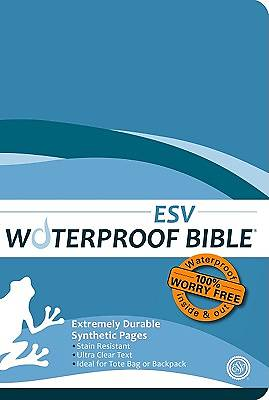 Waterproof Bible - ESV - Blue
