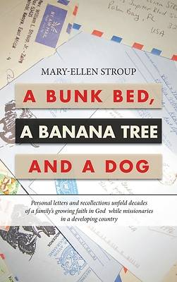 Picture of A Bunk Bed, a Banana Tree and a Dog