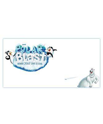 Vacation Bible School (VBS) 2018 Polar Blast Giant Outdoor Banner
