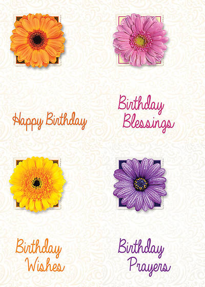 Birthday Blossoms - Birthday Boxed Cards - Box of 12