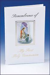 Remembrance of My First Holy Communion Album Boy