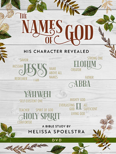 Picture of The Names of God - Women's Bible Study DVD