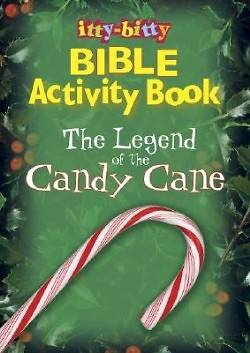 The Legend of the Candy Cane Itty Bitty Book - E5019