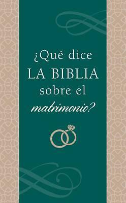 Picture of ¿qué Dice La Biblia Sobre El Matrimonio?