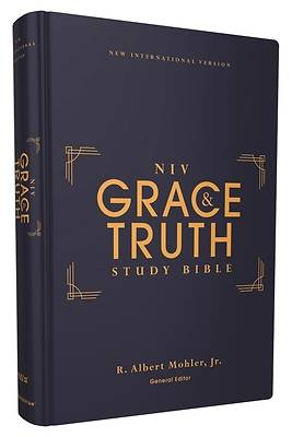 Picture of Niv, the Grace and Truth Study Bible, Hardcover, Red Letter, Comfort Print