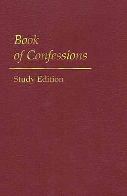 Book of Confessions Study Edition