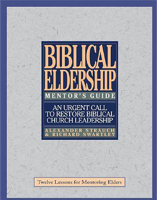 Picture of Biblical Eldership Mentor's Guide