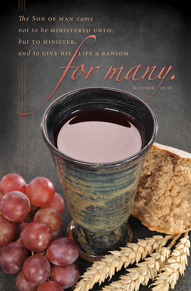 The Son of Man Communion Regular Size Bulletin
