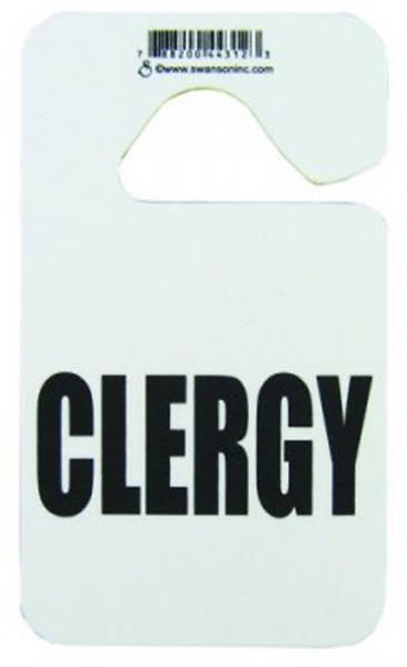Clergy Auto Rearview Hanger