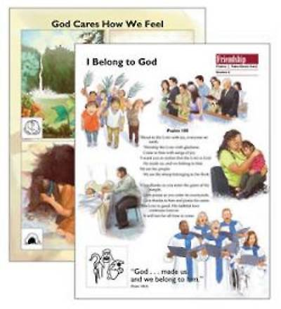 Psalms:  God Cares How I Feel Take-Home Cards