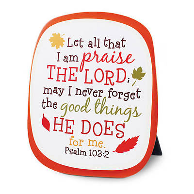 Colorful Series - Count Your Blessings Plaque