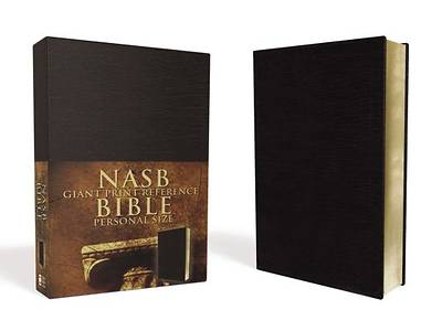 New American Standard Bible Giant Print Reference Bible Personal Size