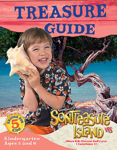Gospel Light VBS 2014 SonTreasure Island Treasure Guide Kindergarten