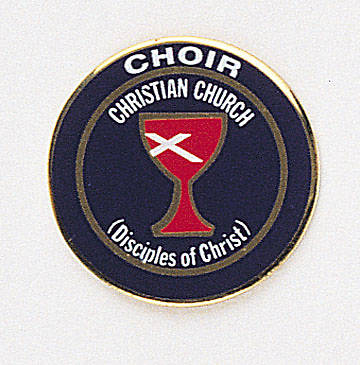 Lapel Pin Choir Blue (Disciples of Christ)
