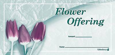 Picture of Flower Offering Envelope (Package of 100)