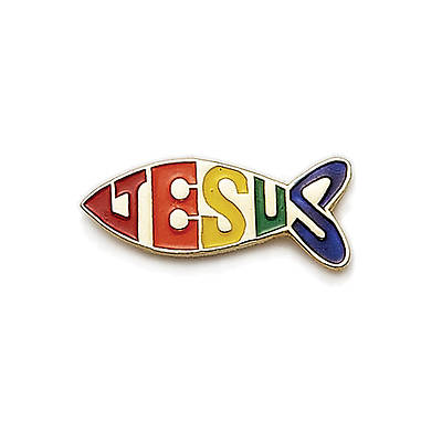Picture of Fish Jesus Pin