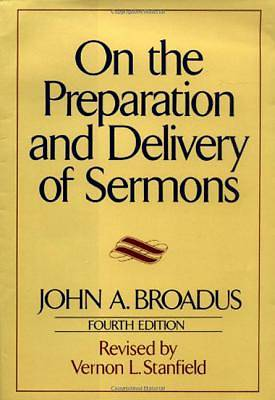 On the Preparation and Delivery of Sermons