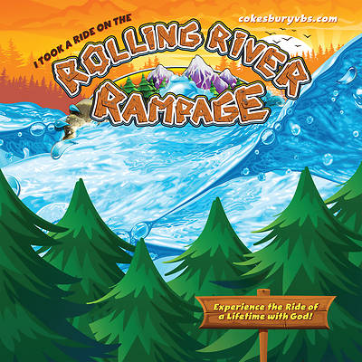 Vacation Bible School (VBS) 2018 Rolling River Rampage Photo Booth Backdrop