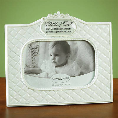 Child of God Baptism Photo Frame