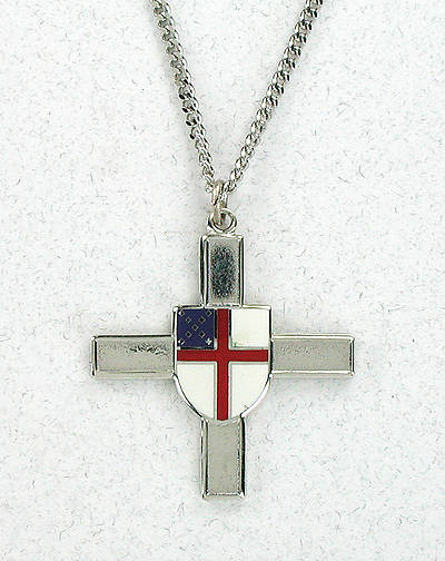 Episcopal Shield Cross