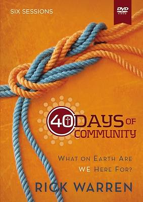 40 Days of Community:  A DVD Study