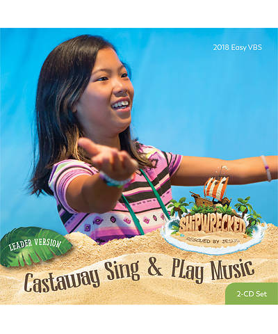 Vacation Bible School (VBS) 2018 Shipwrecked Castaway Sing & Play Music Leader Version CD Set