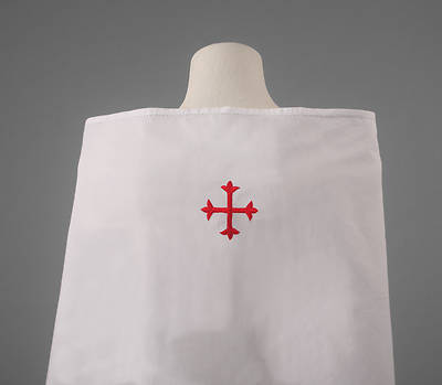 Picture of 100% Cotton Amice with Red Cross
