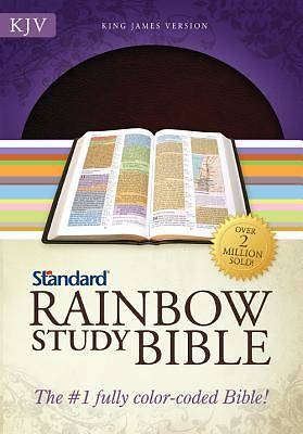 Picture of King James Version Standard Rainbow Study Bible