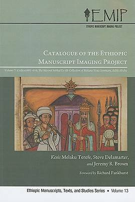 Catalog of the Ethiopic Manuscript Imaging Project