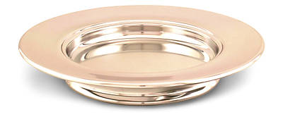 Picture of Communion Stacking Bread Plate - Copper