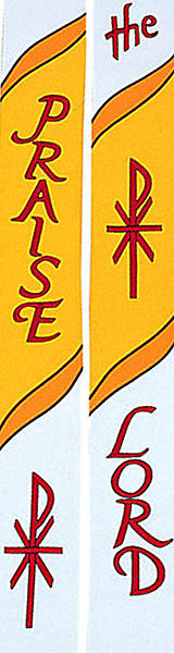 Picture of 7500 Scripture Series White Stole - 110""