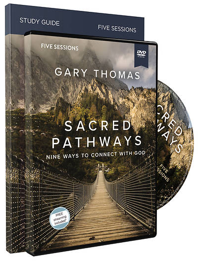 Picture of Sacred Pathways Study Guide with DVD